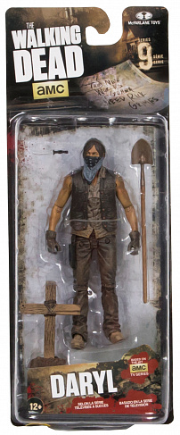 Фигурка Дэрила Диксона — McFarlane Toys The Walking Dead Series 9 Daryl Dixon