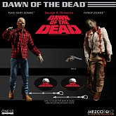 Фигурки Зомби — Mezco Dawn Of The Dead 1/12 2-Pack Zombie
