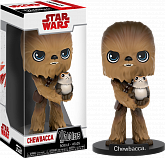 Башкотряс Чубакка — Funko Star Wars Episode VIII Wacky Wobbler Chewbacca Porg