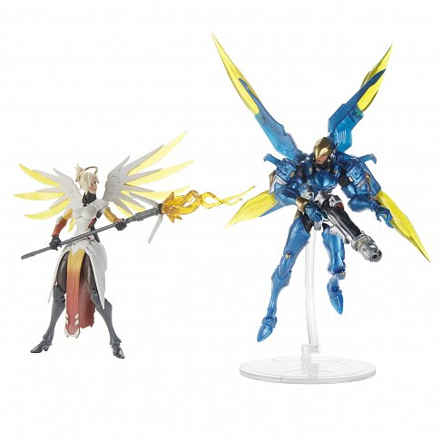 Фигурки Overwatch — Hasbro Overwatch Ultimate Mercy Pharah 2-Pack