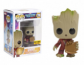 Фигурка Грута — Funko Guardians of the Galaxy 2 POP! Young Groot with Shield