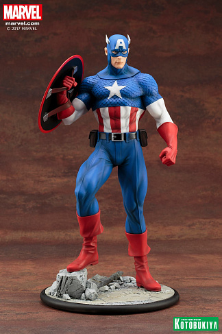 Фигурка Капитана Америки — Kotobukiya Marvel Modern Mythology ARTFX Captain America