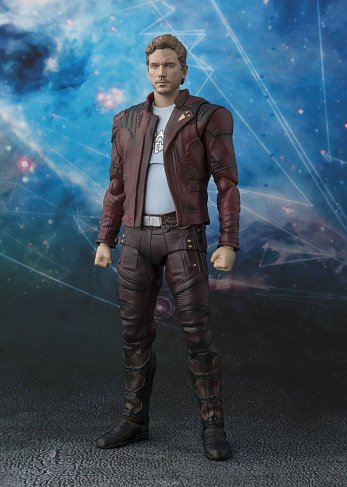 Фигурка Звездного Лорда — S.H. Figuarts Guardians of the Galaxy Vol. 2 Star-Lord