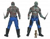 Фигурки Дракса и Грута — Guardians of the Galaxy 2 Marvel Select Drax and Baby Groot