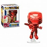 Фигурка Железный Человек — Funko Avengers Infinity War POP! Iron Man Red Chrome Target Exclusive