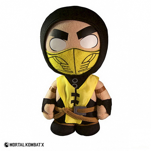"Плюш Скорпион ""Mortal Kombat X"" 20см (Mezco Mortal Kombat X Scorpion Plush Figure)"